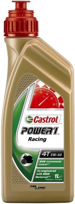 Масло моторное Castrol POWER 1 RACING 4T  5w40 (Канистра 1л)