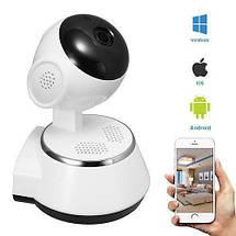 IP камера видеонаблюдения WIFI Smart NET camera Q6, Web камера онлайн wi-fi с записью, фото 3
