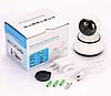 IP камера видеонаблюдения WIFI Smart NET camera Q6, Web камера онлайн wi-fi с записью, фото 4