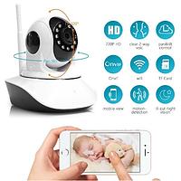 IP камера видеонаблюдения WIFI Smart NET camera Q6, Web камера онлайн wi-fi с записью