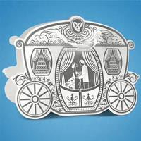 Коробочка для свадебного каравая, сладостей и свадебных шишек