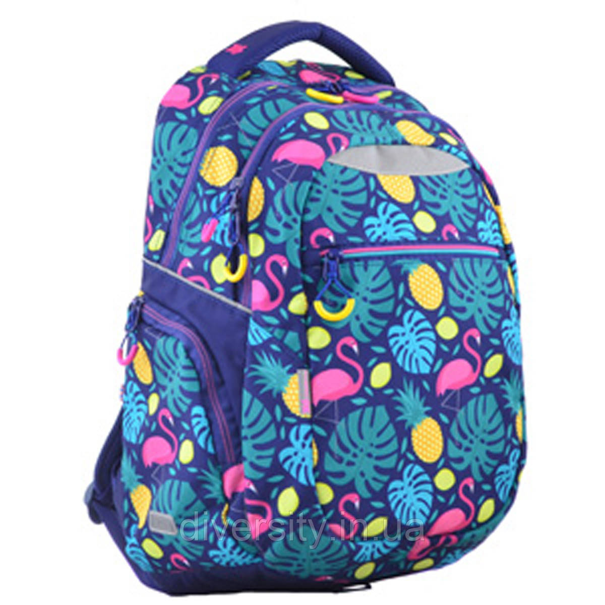 Молодежный рюкзак YES  T-23 Flamingo, 45*31*14.5