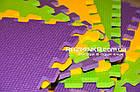Напольный коврик-пазл для детей 500х500х10мм, фото 3