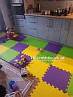 Напольный коврик-пазл для детей 500х500х10мм, фото 4