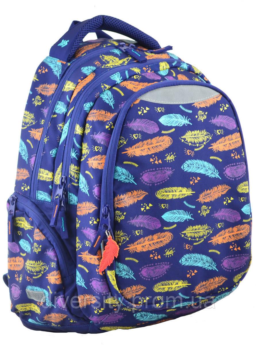 Молодежный рюкзак YES  Т-22 Feather, 45*31*15