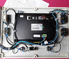 Система управления механизмом поворота театральной сцены на базе преобразователя частоты Hitachi. 5