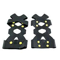 Ледоступы для обуви Non-Slip 45 Черный (1001345-Black-XL)