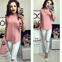 Блузка жіноча, модель 749, рожевий, фото 1