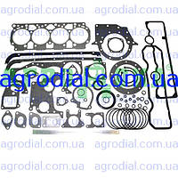 Набор прокладок двигателя Д-245 (МТЗ) паронит+рти+герметик