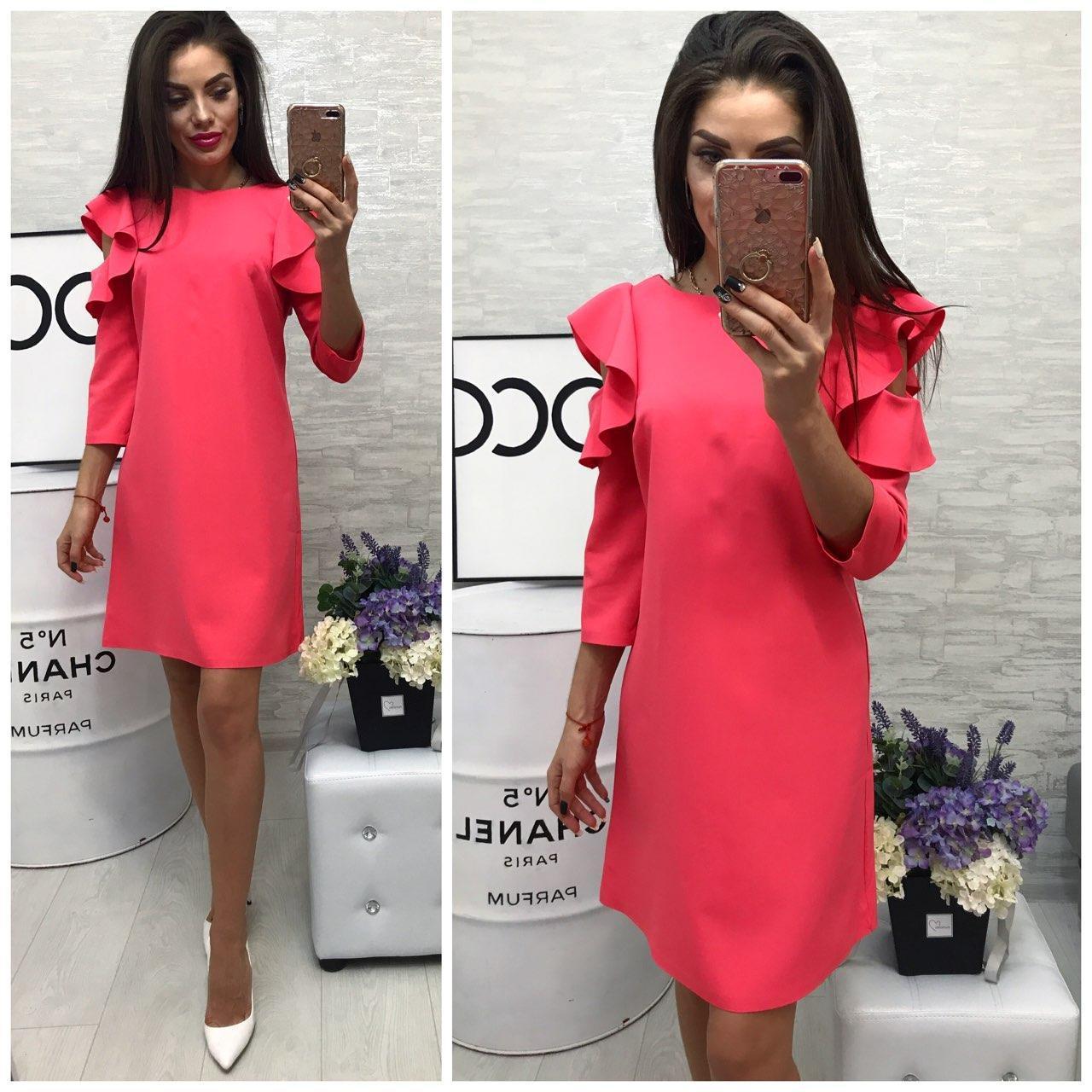 Платье модель 783/2 розовый