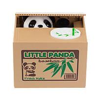 Копилка панда-воришка Коричневый (1002335-Brown-0)