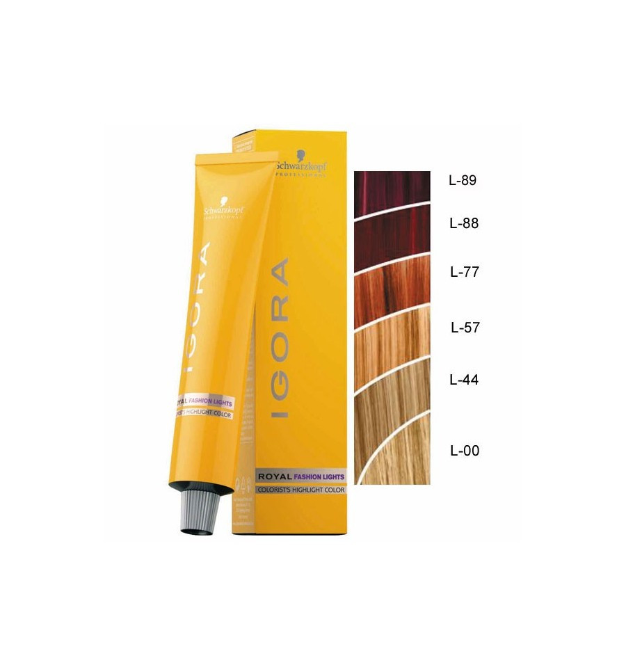 Краска для волос Schwarzkopf Professional Igora Royal Fashion Lights