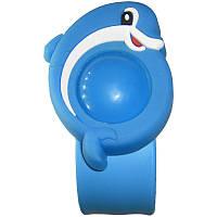Детский антимоскитный браслет-отпугиватель Голубой (1002766-LightBlue-0)