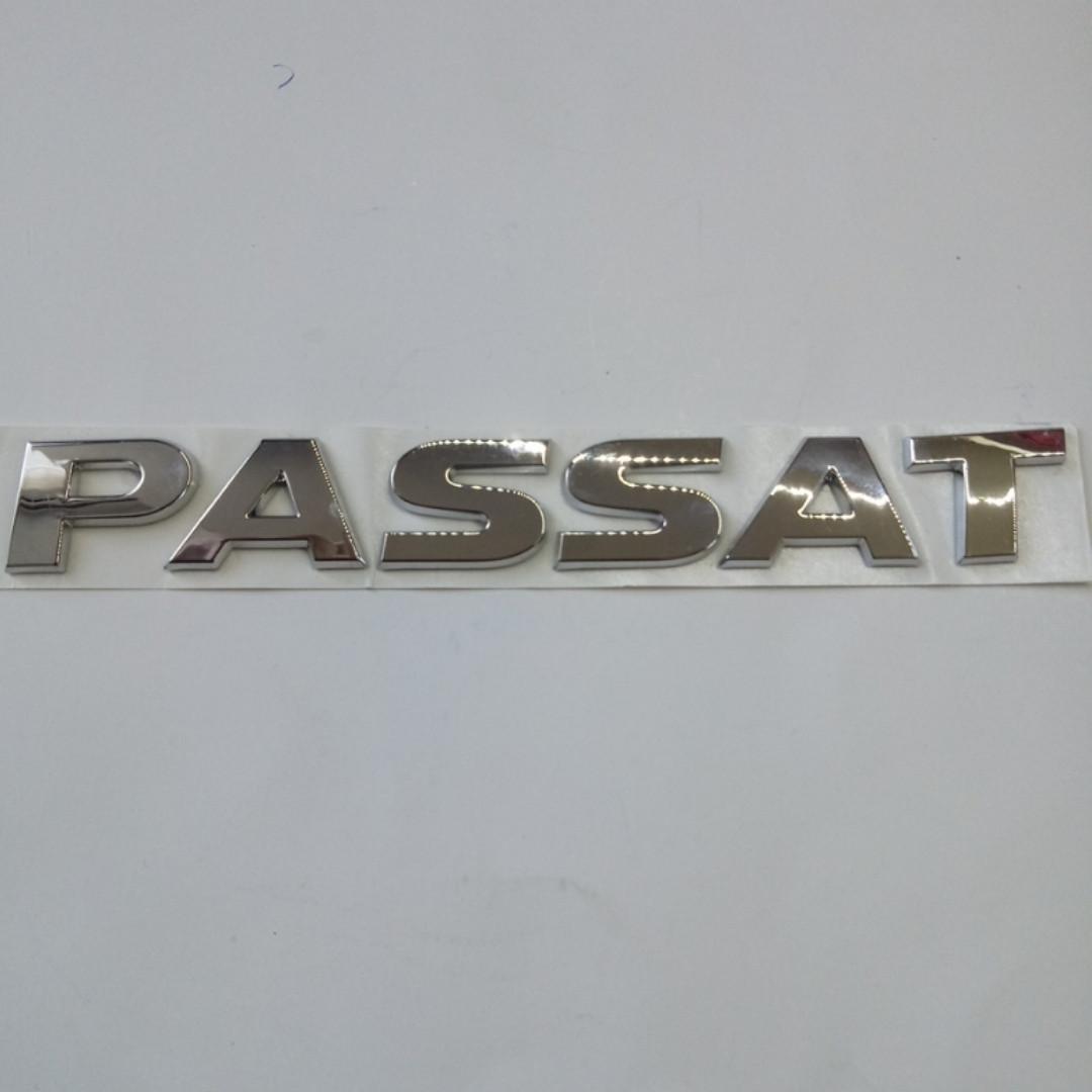 Шильдик напис Passat (19*155) на кришку багажника Passat 19*155