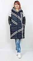 Турецкая теплая женская жилетка больших размеров 52-64