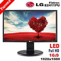 """Монитор 24"""" LG Flatron E2411PU/LED/Full HD/1920 x 1080(к.3922-3), фото 1"""