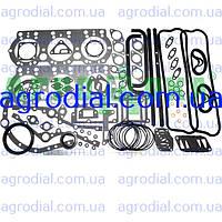 Набор прокладок двигателя ЯМЗ-236  нового образца паронит+рти+герметик