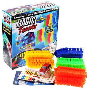 Детский светящийся гибкий трек Magic Tracks 165 деталей, фото 2