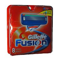 Сменные кассеты Gillette Fusion 8 шт (качество гарантируем), фото 1