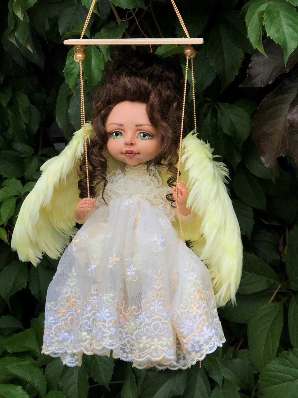 Авторская кукла - Лимонная(0933340864 Ирина)