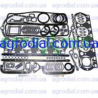 Набор прокладок двигателя ЯМЗ-238  старого образца паронит+рти+герметик
