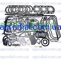 Набор прокладок двигателя ЯМЗ-240, К-701 (совм.головка) паронит+рти+герметик