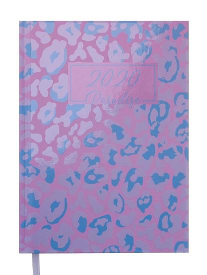 Ежедневник датированный 2020 А5 Buromax PARADISE голубой