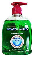 Жидкое мыло с глицерином Фитодоктор Зеленый чай Тонизирующее - 300 мл.