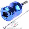 Модульный держатель синий 28 мм с толкателем