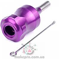 Модульний тримач фіолетовий 28 мм з штовхачем