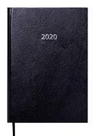 Ежедневник датированный 2020 A5 Buromax STRONG черный