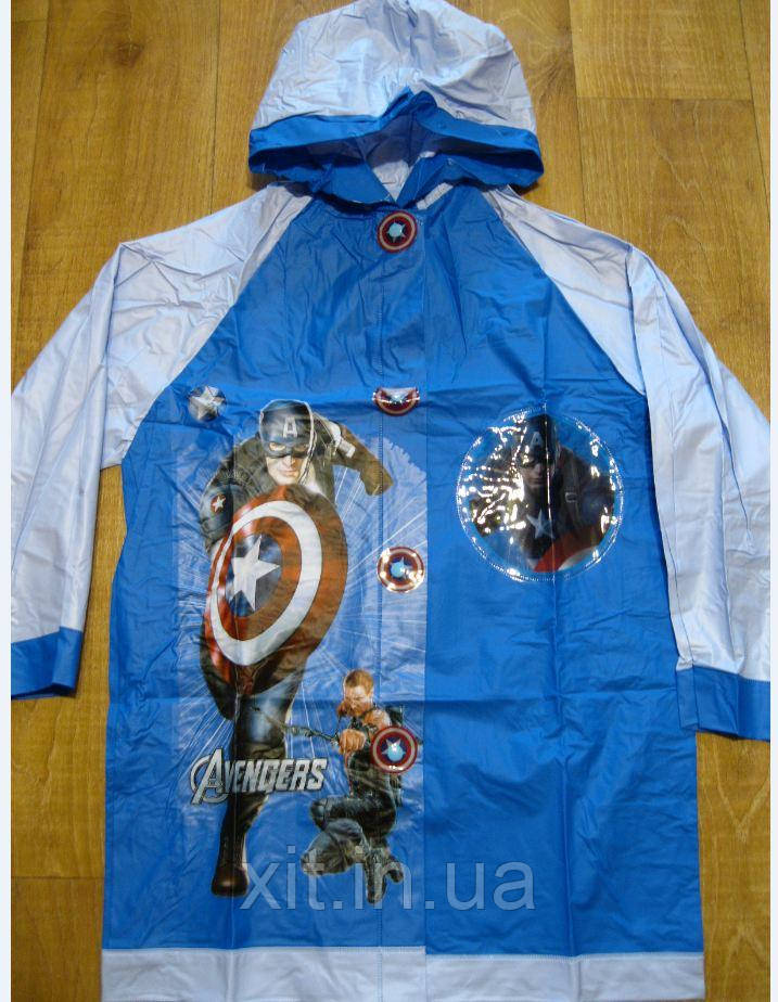 Плащ-дождевик Капитан Америка, М, XL