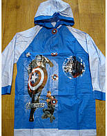 Плащ-дождевик Капитан Америка, М, XL, фото 1
