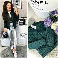 Куртка женская 310, новинка 2018, цвет Пиния, фото 1
