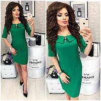 Платье женское, модель 811,  цвет Зеленый(трава)