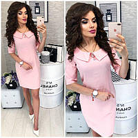 Платье женское, модель 811,  цвет Светло-розовый