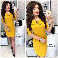 Платье женское, модель 811,  цвет Горчица