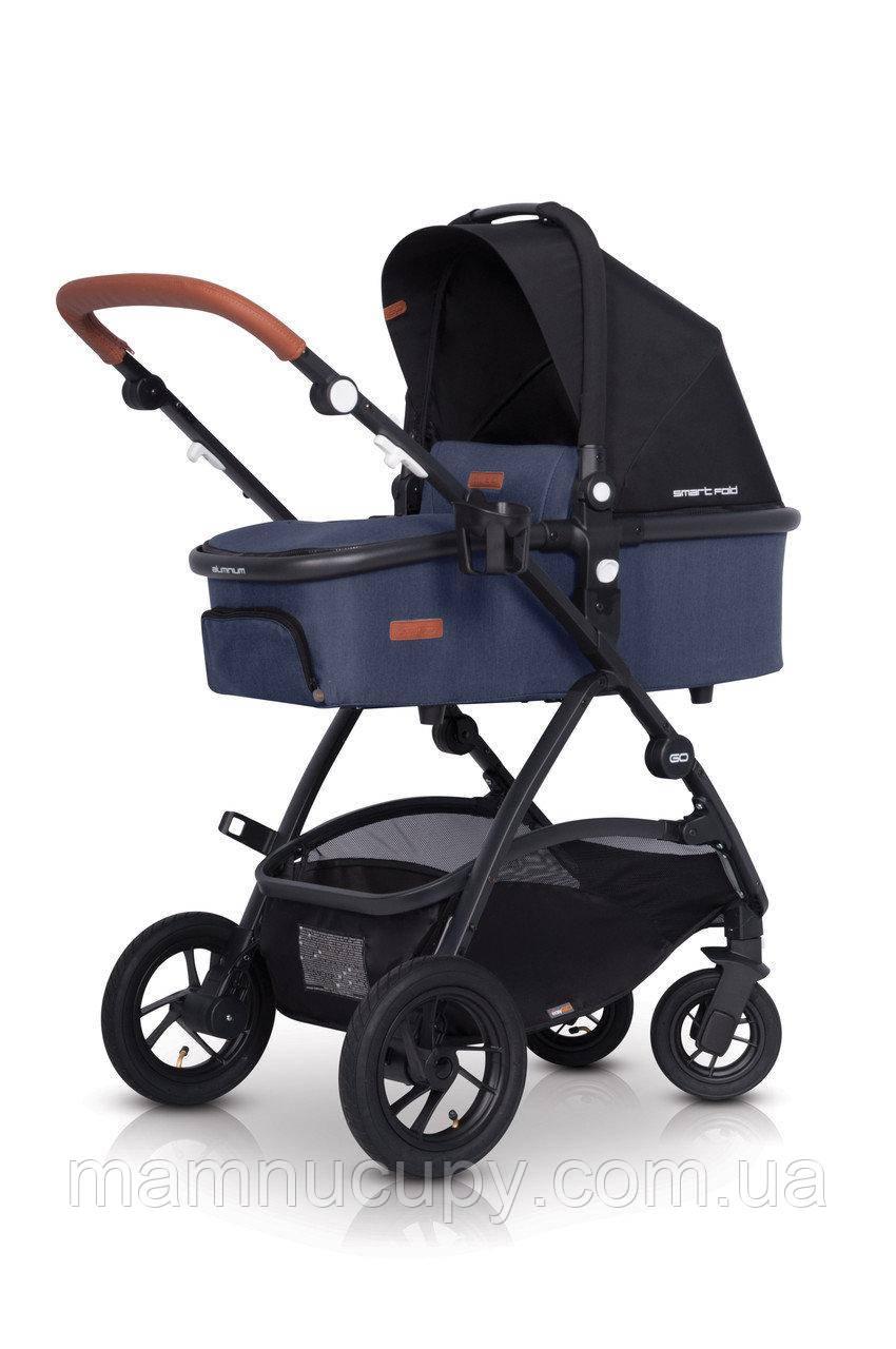 Детская универсальная коляска 2 в1  EasyGo Optimo Air Denim