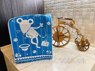 Льняные двухсторонние полотенца  25 х 50 см, фото 2