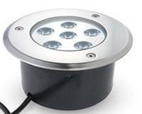 Грунтовый светодиодный светильник 6W RGB