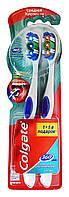 Зубные щетки Colgate 360 Суперчистота всей полости рта 1+1 средней жесткости