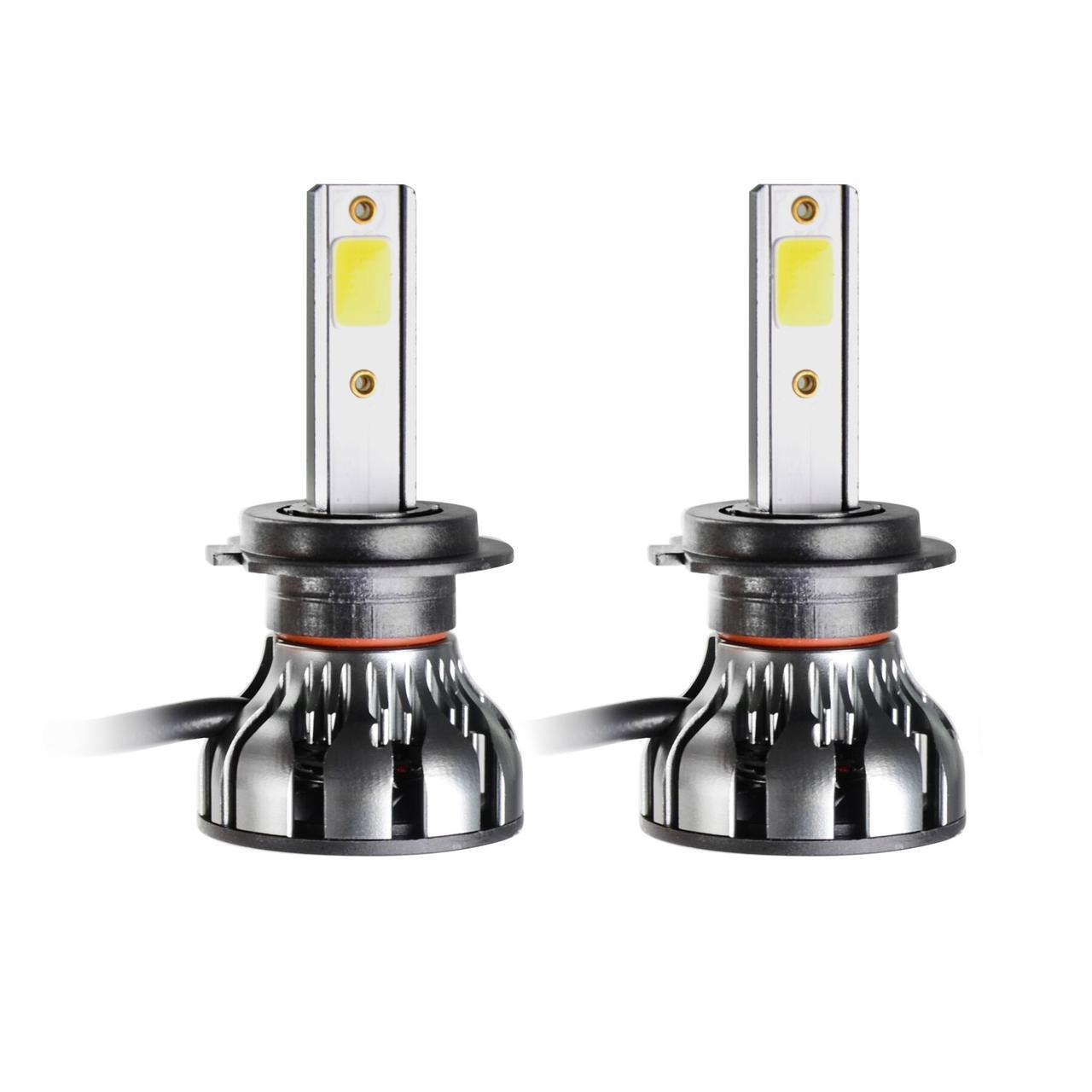 Светодиодные LED лампы MLux Grey Line H7, 26 Вт, 5000°К