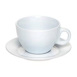 Чашка с блюдцем белая, под нанесение логотипа
