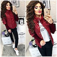 Куртка жіноча, 205, колір вишня, фото 1