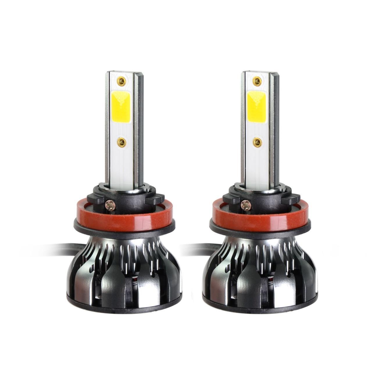 Светодиодные LED лампы MLux Grey Line H11 (H8, H9), 26 Вт, 5000°К