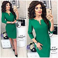Платье женское, модель 805,  цвет Ярко-зеленый(трава)