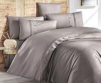 Комплект постельного белья First Choice Ranforce Deluxe евро Meagen Vizon, фото 1