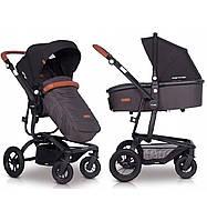 Детская универсальная коляска 2 в 1 EasyGo Soul Air Antracite