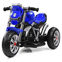 Детский трех колесный мотоцикл BAMBI M 3639-4 синий