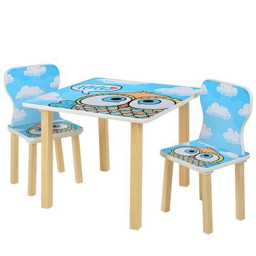 """Детский столик со стульчиками 508-60 """"Сова"""""""